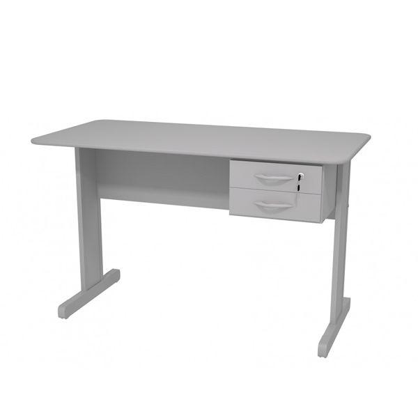 Mesa para Escritório Maxxi 1,50 mt com 2 gavetas