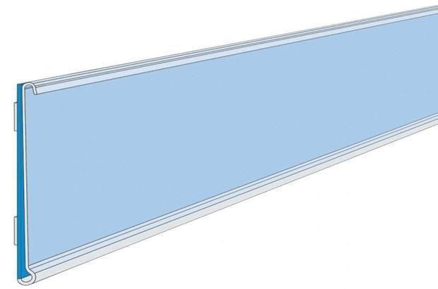 Porta Etiqueta Com Visor Dupla Face Pvc 35mm 100 cm pacote Com 10