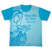 Camiseta Ref0156 Santa Rita De Cássia