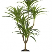 Árvore Artificial Dracena Real Toque Verde Brilliance - BA355