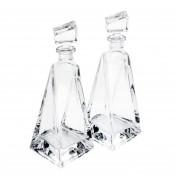 Conjunto com 2 Garrafas de Vidro Sodo-Cálcio Com Titanios Lover 600ml 5815 - Rojemac