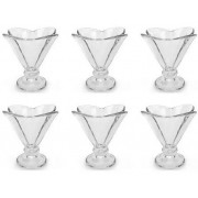Jogo de 6 Taças de Vidro Crema 6476 - Crema