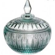 Potiche Decorativo Queen Cristal Verde 15xØ14cm Rojemac - 27999