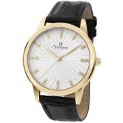 Relógio Feminino Champion Analogico Dourado CN28286B