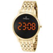 Relógio Feminino Champion Digital Dourado CH40099J