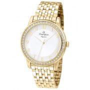 Relógio Feminino Champion Elegance Dourado CN24191H