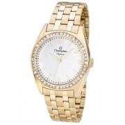 Relógio Feminino Champion Elegance Dourado CN24208H