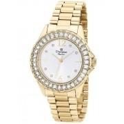 Relógio Feminino Champion Elegance Dourado CN24299H