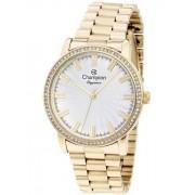 Relógio Feminino Champion Elegance Dourado CN25798H