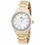 Relógio Feminino Champion Elegance Dourado CN25994H