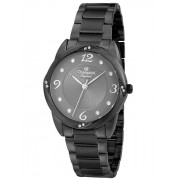 Relógio Feminino Champion Elegance Preto CN25734C