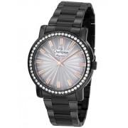Relógio Feminino Champion Elegance Preto CN27250D