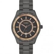 Relógio Feminino Euro Iconic Glow Preto EU21176HAC/4F