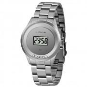 Relógio Feminino Lince Digital Prata SDM4610L-BXSX