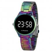 Relógio Feminino Lince LED MDT4617L-BXQX