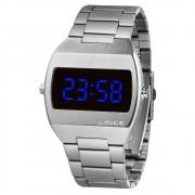 Relógio Feminino Lince LED Prata MDM4621L-DXSX