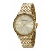 Relógio Feminino Mondaine Glitter Dourado 53649LPMVDE1
