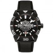 Relógio Masculino Bulova Harley Davidson WH30537P