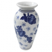 Vaso Watercolor Em Porcelana 15cm 23586 - Full Fit