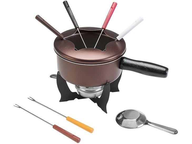 Aparelho de Fondue Brinox Chocolate 1255/116 - 10 Peças