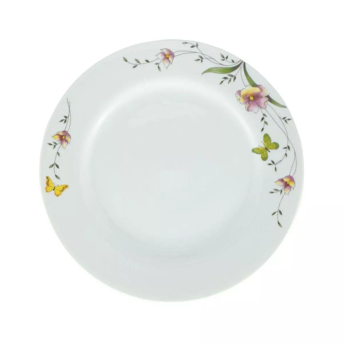 Aparelho de Jantar e Chá Schimidt Carmem 50423 - 30 Peças