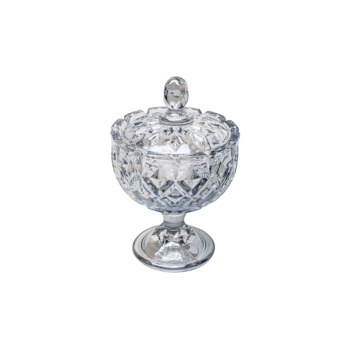 Bomboniere c/ Pé Wolff Crown em Cristal 26389
