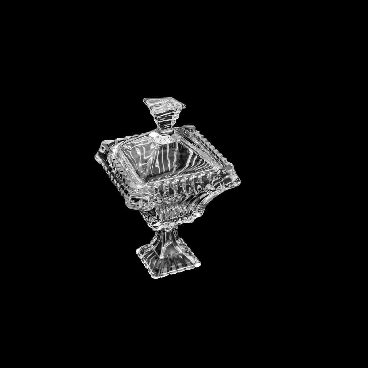 Bomboniere Wolff Medieval c/ Tampa e Pé em Cristal 35204