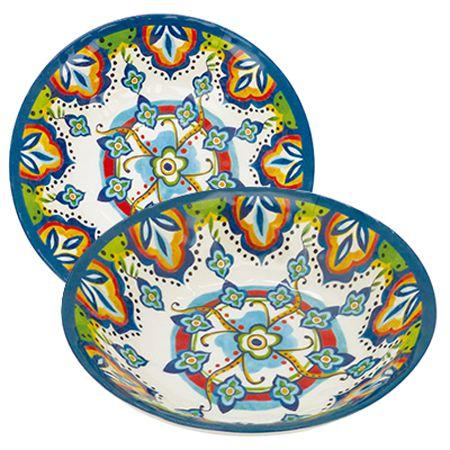 Bowl Mimo Style Linha Étnica em Melamina MB19C