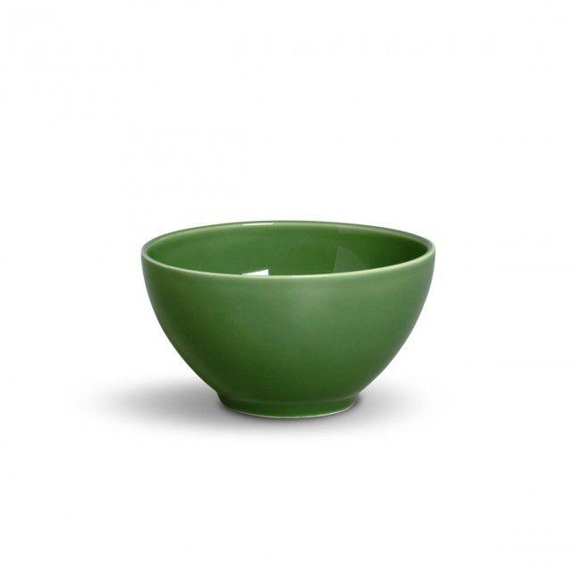 Conjunto Bowls Porto Brasil Mônaco em Cerâmica Verde 330149 - 6 Peças