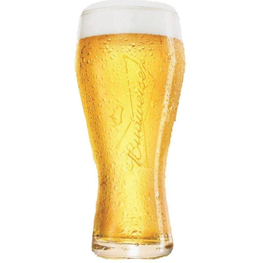 Conjunto Com 4 Copos Budweiser Full House  - 8600621