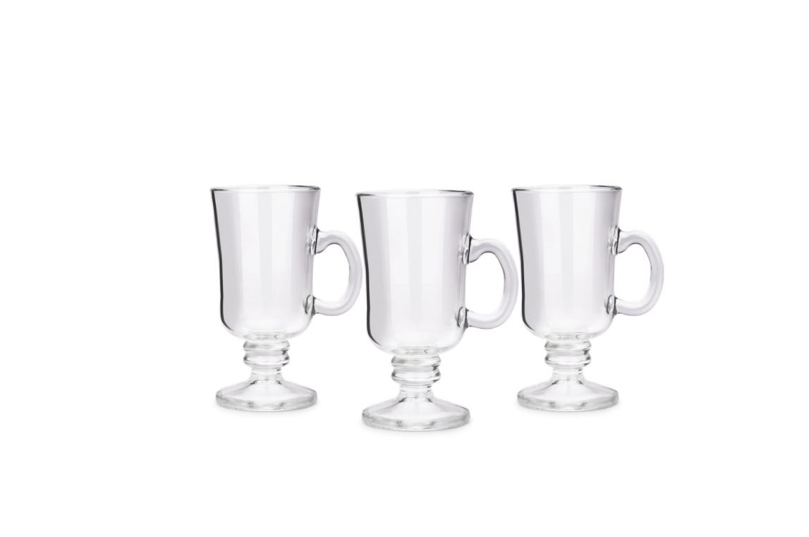 Conjunto de 3 Canecas Irish Coffee Pavillion 240Ml 57716/109 - Brinox