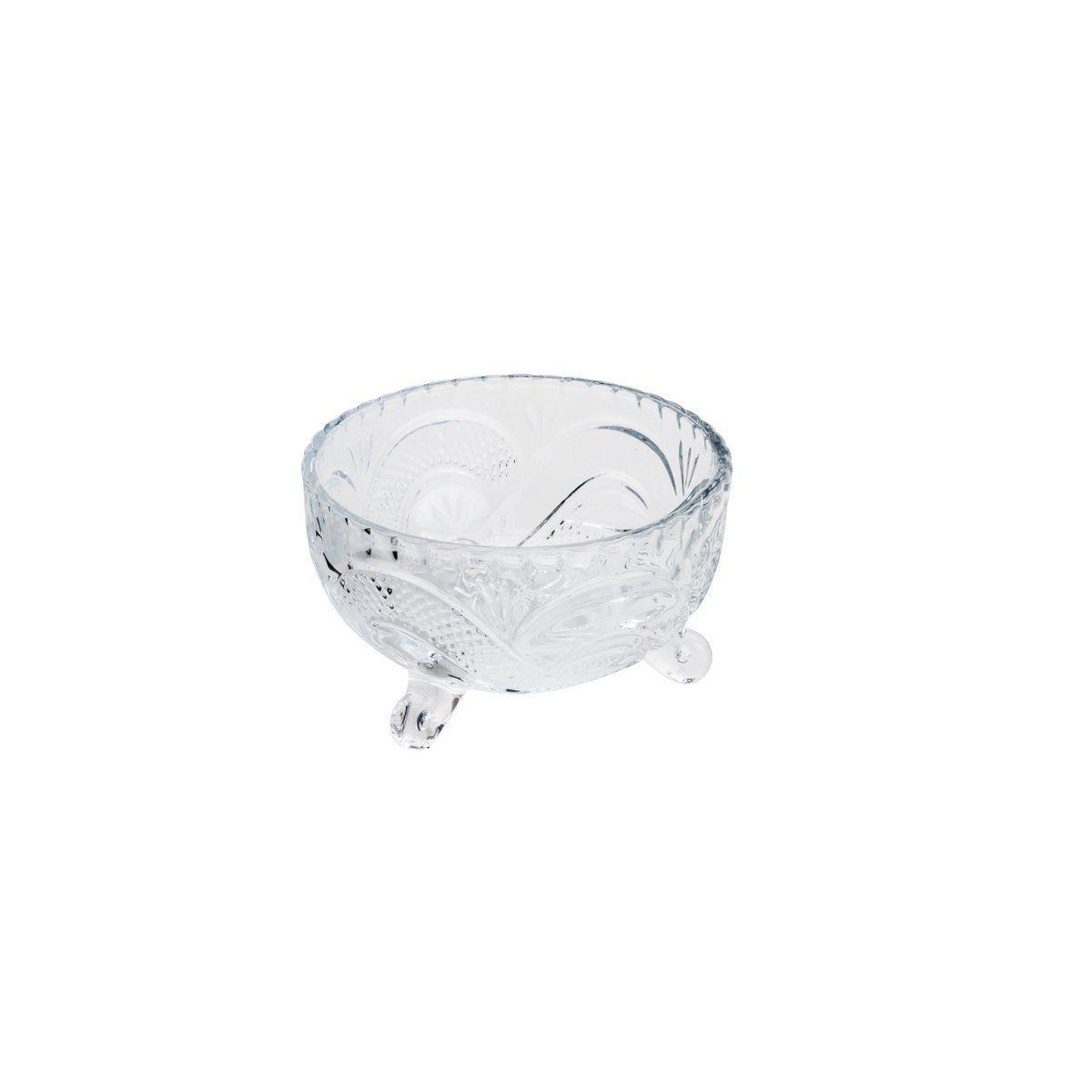 Conjunto de Bowls para Sobremesa Wolff Glory em Cristal Transparente 26812 - 7 Peças