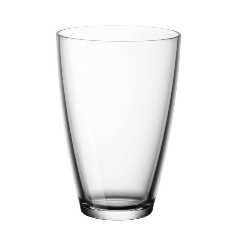 Conjunto de Copos Bormioli Rocco Long Drink Zeno 430ml BOR383530 - 6 Peças