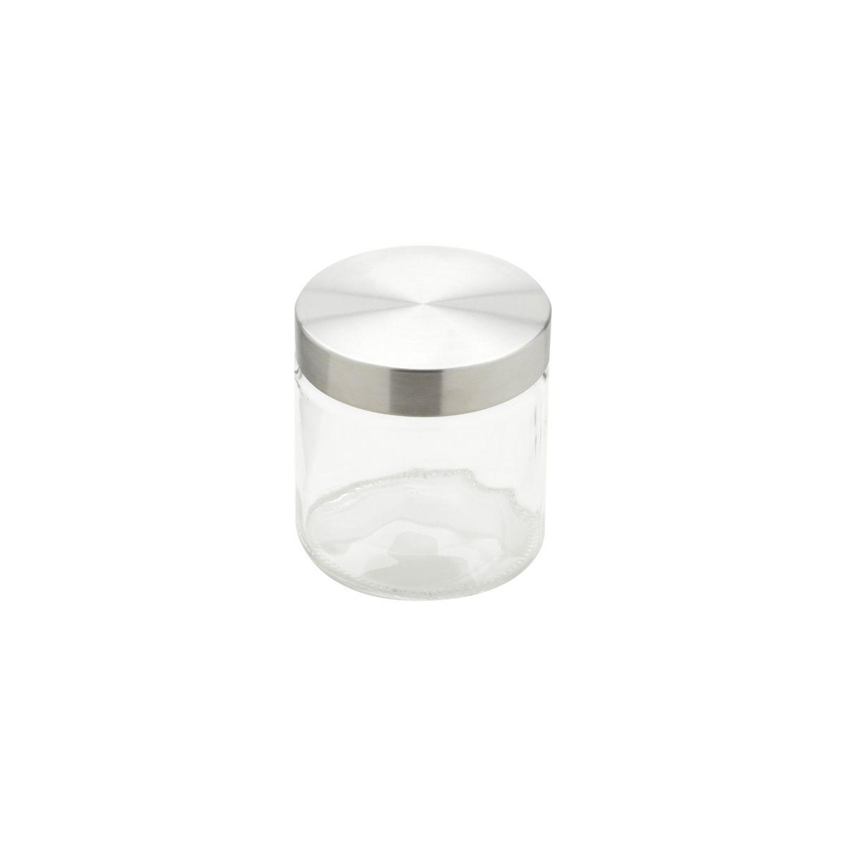 Conjunto de Porta-Mantimentos Redondos em Vidro Bon Gourmet 26317 - 3 Peças