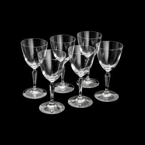 Conjunto de Taças Bon Gourmet Ivana em Cristal Ecológico 200ml 5987 - 6 Peças