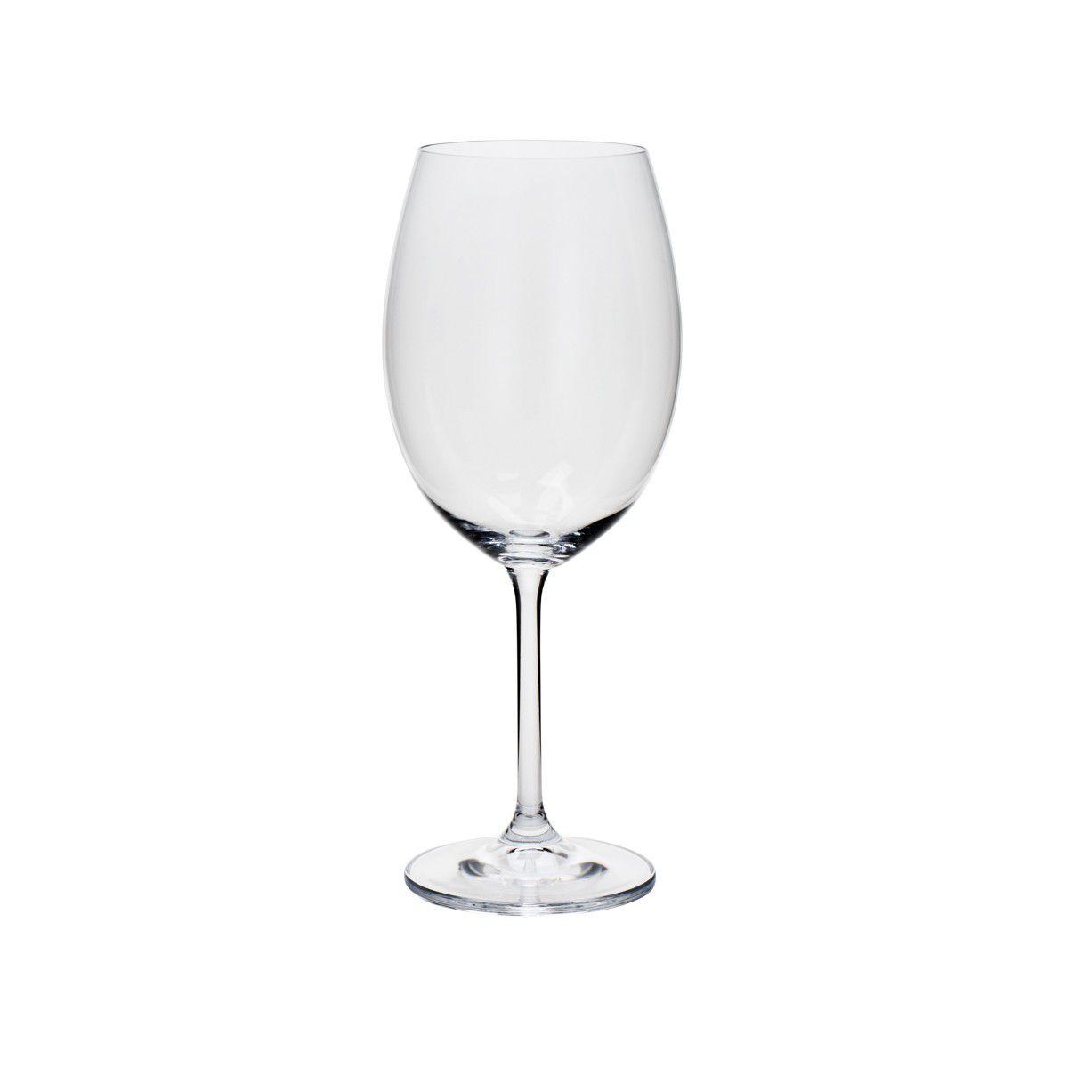 Conjunto de Taças de Água Bohemia Gastro Colibri 580ml 5251 - 6 Peças