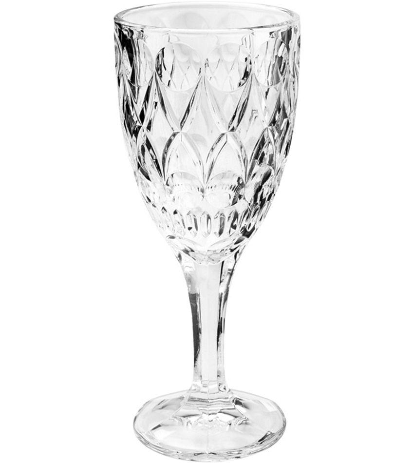 Conjunto de Taças de Água Class Wolff Angelica em Cristal Ecológico 245ml 35229 - 6 Peças