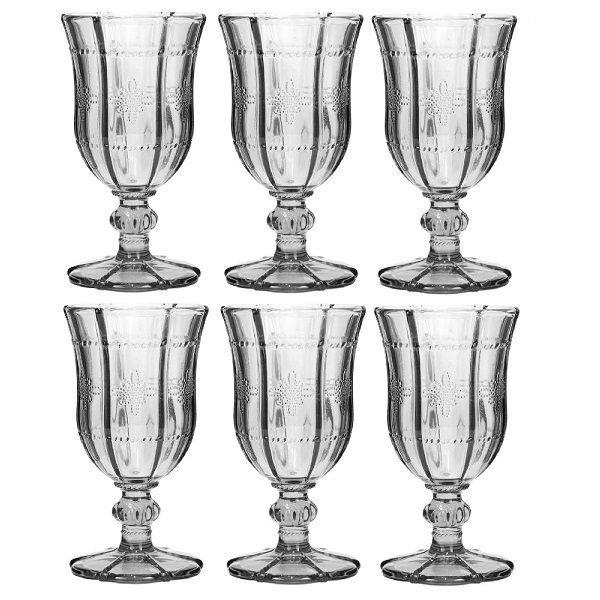 Conjunto de Taças de Vinho Bon Gourmet Knot 260ml 25986 - 6 Peças