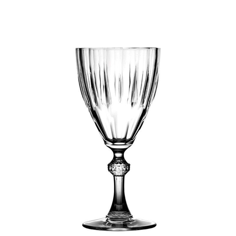 Conjunto de Taças de Vinho Pasabahçe Diamond 300ml PAB44777U - 6 Peças