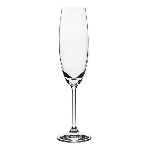 Conjunto de Taças para Champanhe Bohemia em Cristal Ecológico 56079 - 6 Peças