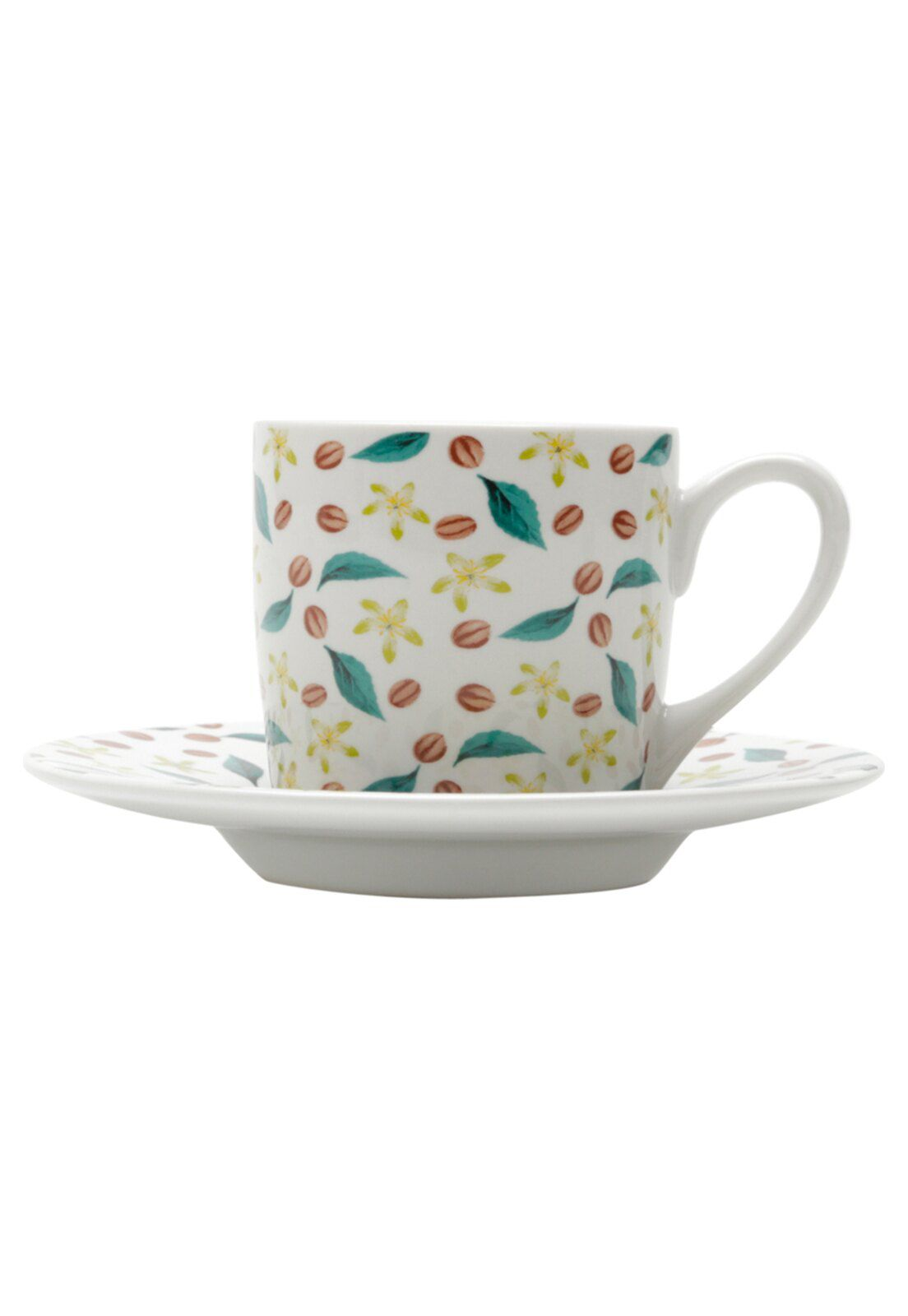Conjunto de Xícaras de Café Bon Gourmet Grains 90ml 17336 - 12 Peças
