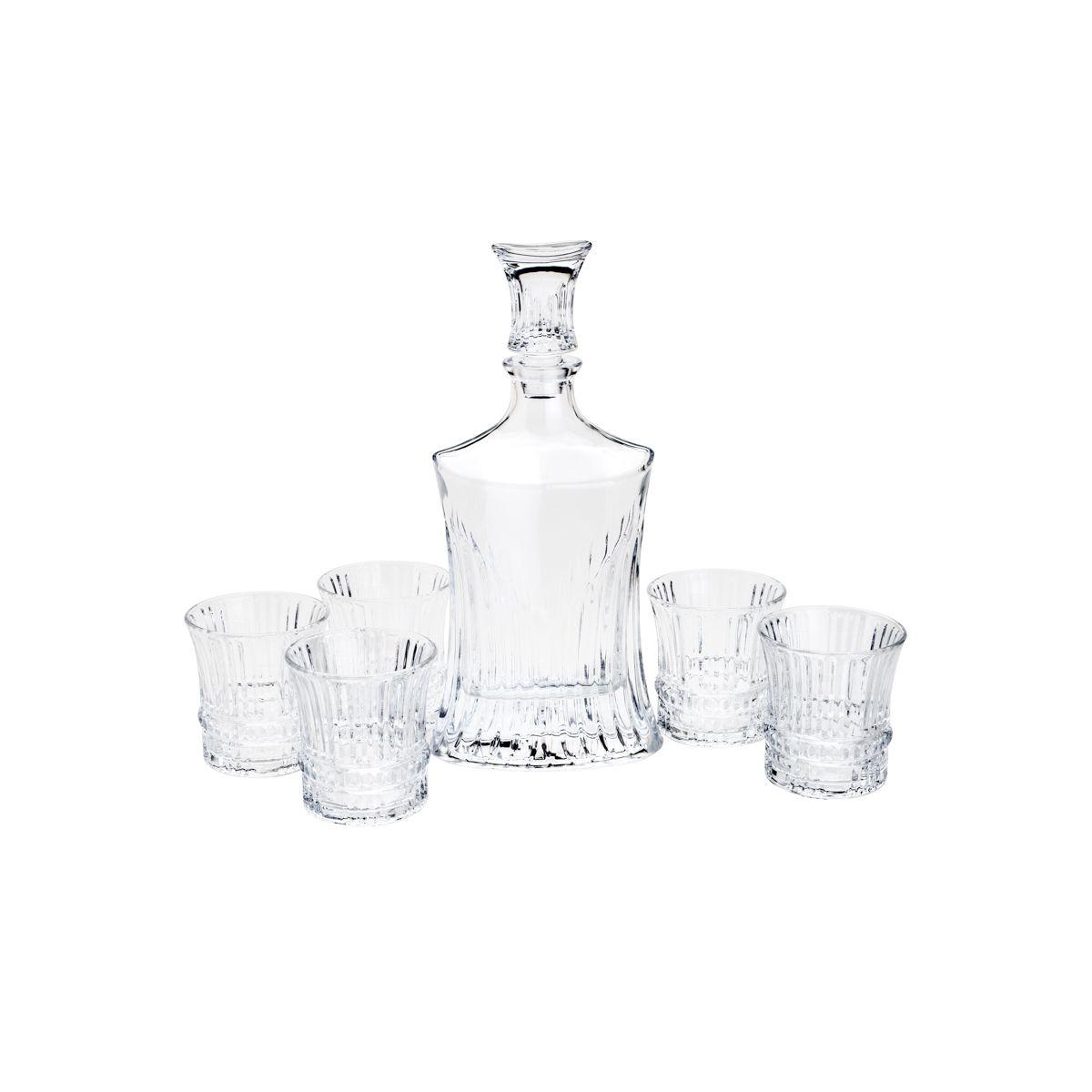 Conjunto Garrafa e Copos de Whisky Wolff  26643 - 7 Peças