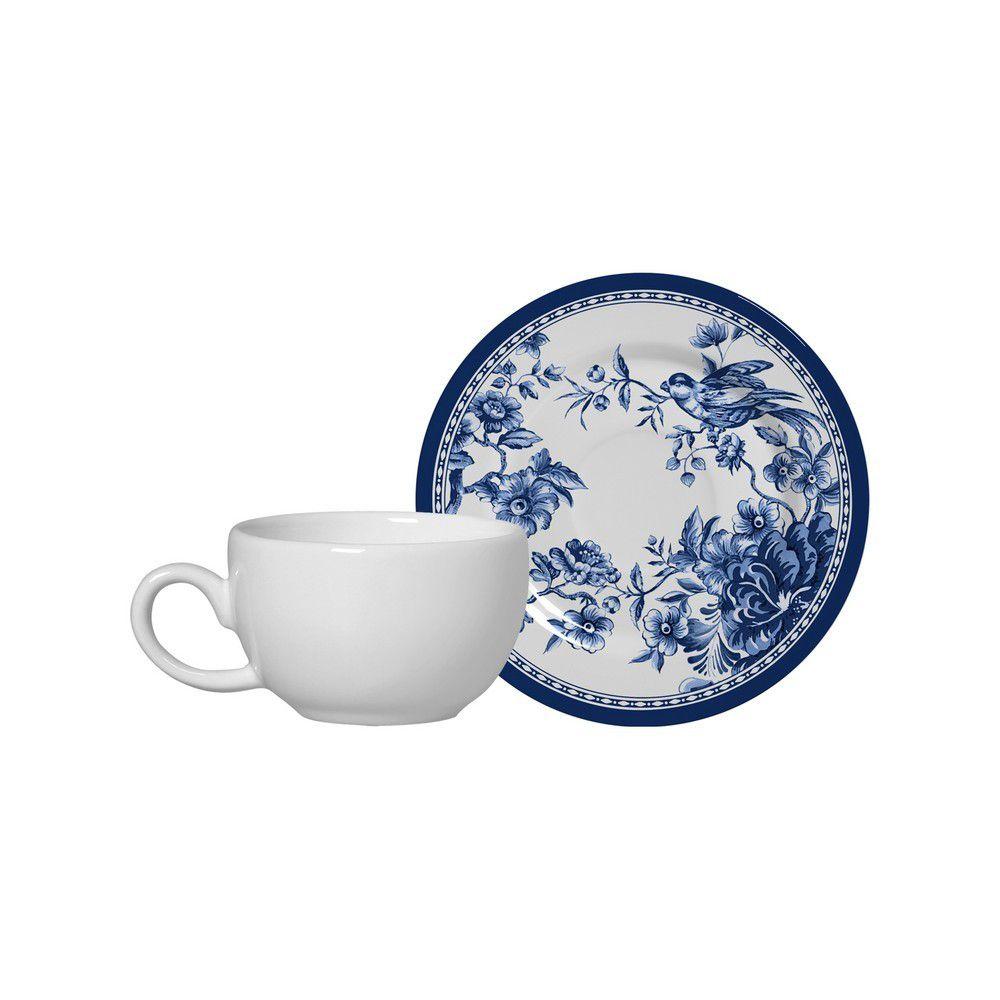 Conjunto Xícara de Café c/ Pires Alleanza Chinese Garden 1091-105 - 2 Peças