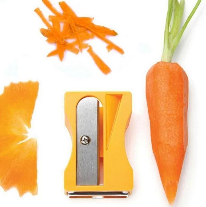 Descascador Decorativo de Legumes Formato Apontador 8cm