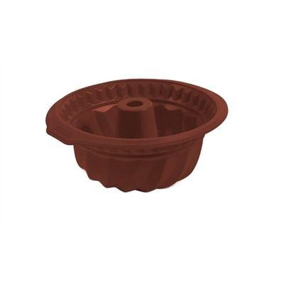 Forma p/ Bolo Brinox Glacê Chocolate em Silicone 3500/307