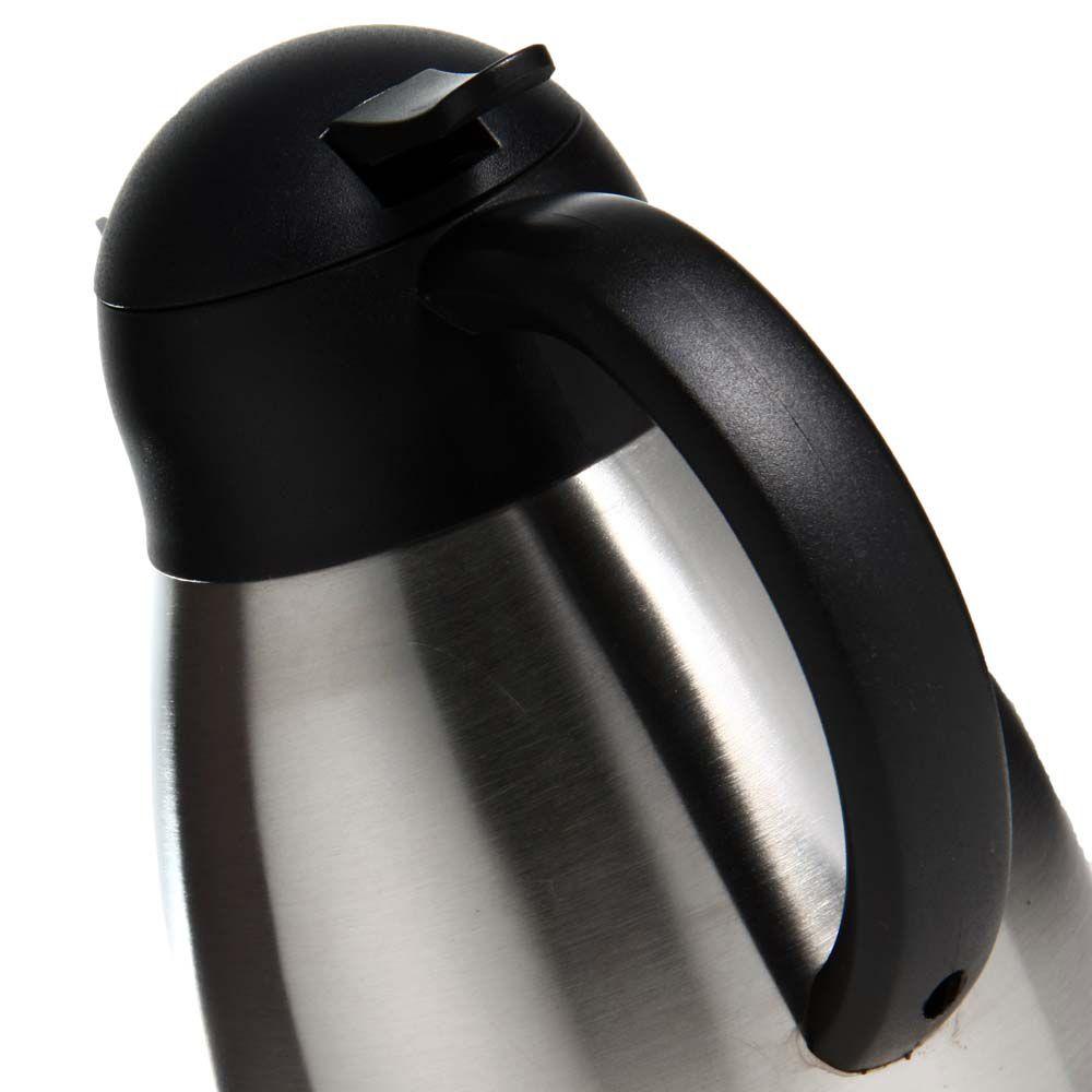 Garrafa Térmica Bon Gourmet em Aço Inox c/ Dupla Parede 1,2L 7322