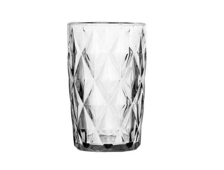 Jogo de 6 Copos Para Água Diamond 350ml Clear - 878