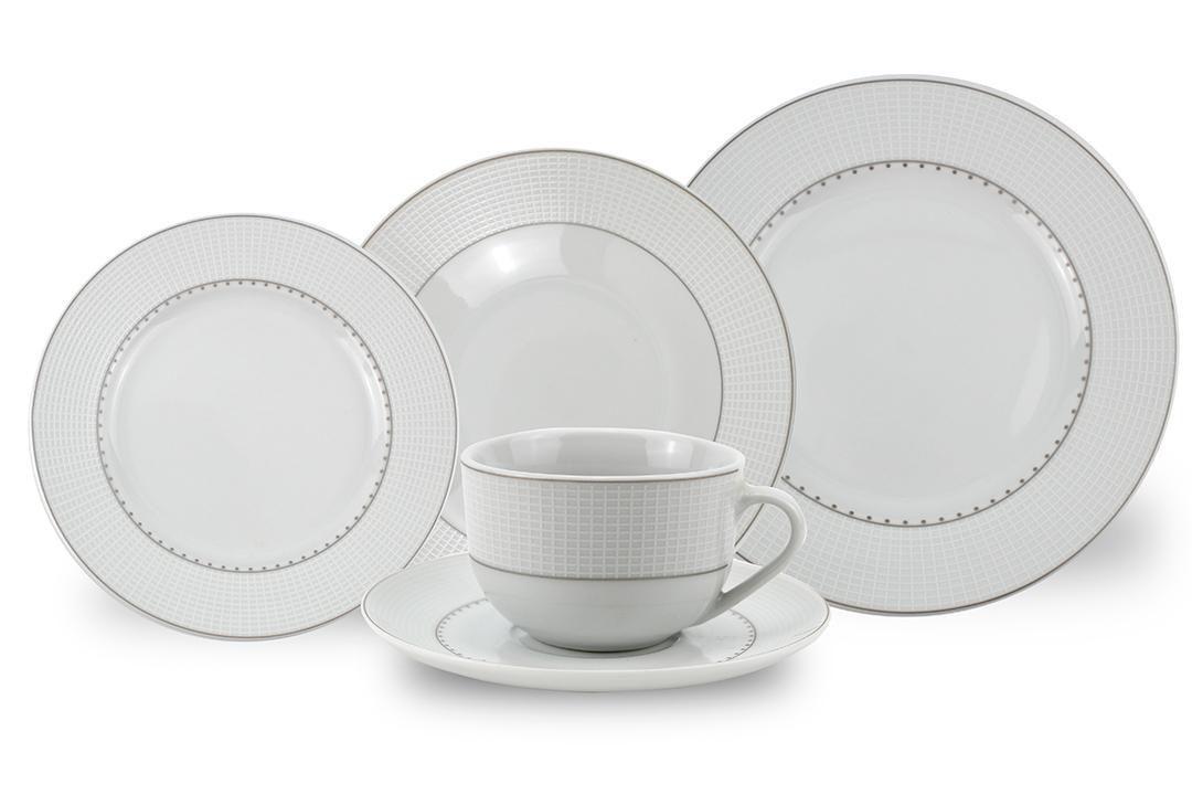 Jogo de Jantar Class Home em Porcelana Fina 915 - 30 Peças