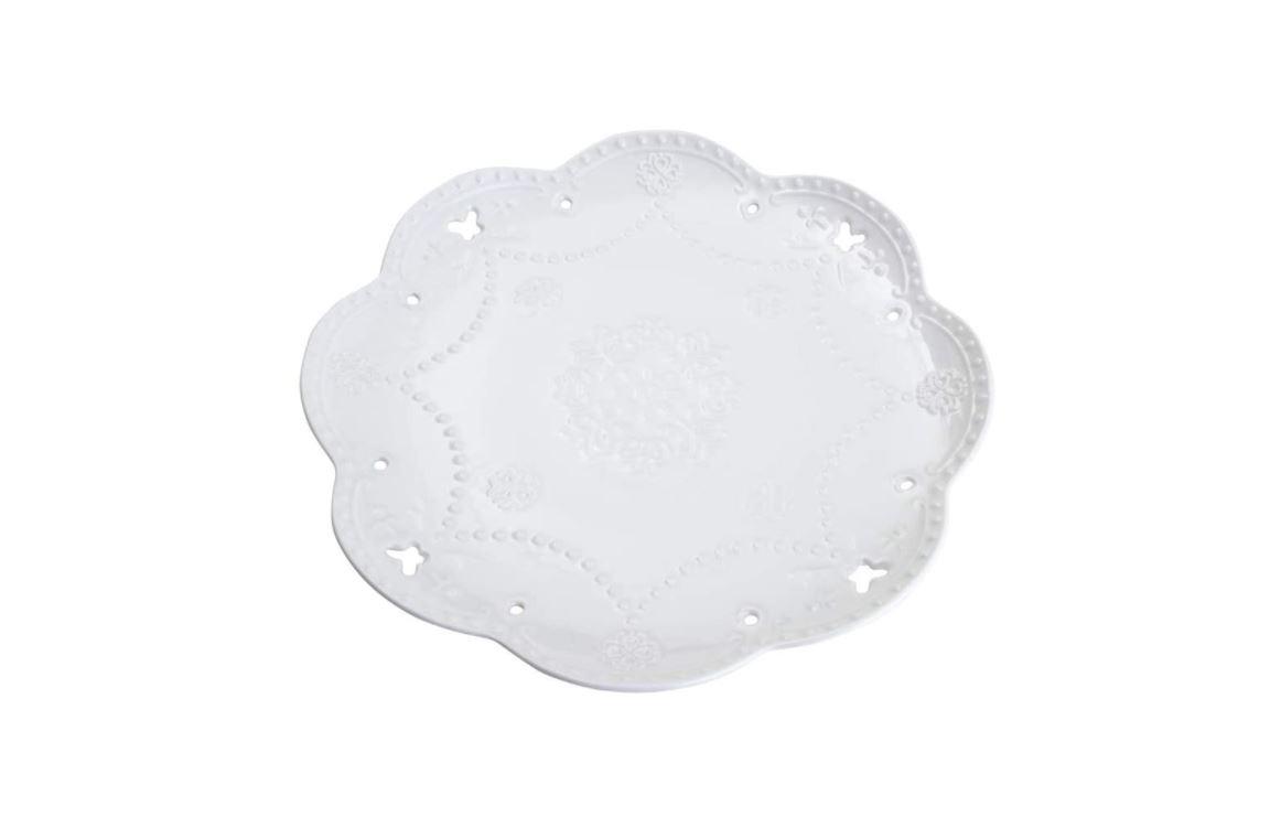 Jogo De Pratos De Sobremesa Porcelana Butterfly Rojemac - 26416