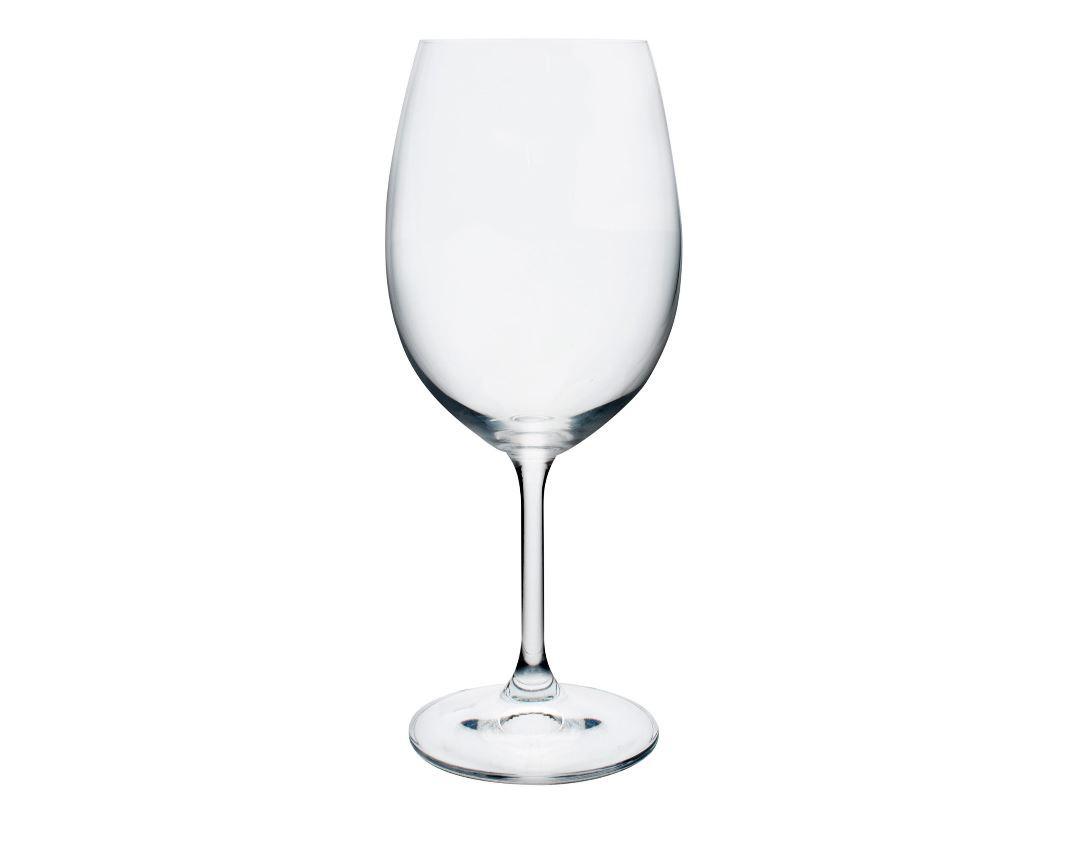 Jogo de Taça Vinho Tinto 6 Peças Anna Cristal Ecológico Bohemia 450ml 58000 - Full Fit